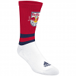 "New York Red Bulls Adidas MLS ""Team Logo on Color"" Jacquard Men's Crew Socks"