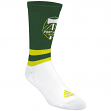 "Portland Timbers Adidas MLS ""Team Logo on Color"" Jacquard Men's Crew Socks"