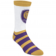 "Orlando City SC Adidas MLS ""Team Logo on White"" Jacquard Men's Crew Socks"