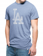 "Los Angeles Dodgers 47 Brand MLB ""Tri-State"" Premium Men's Slub T-Shirt"