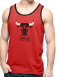 "Chicago Bulls 47 Brand NBA Men's Vintage ""Crosstown"" Tank Top Shirt"