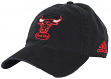 Chicago Bulls Adidas NBA Hardware Classics Slouch Adjustable Hat