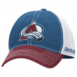 Colorado Avalanche Reebok NHL Garment Washed Slouch Adjustable Hat