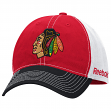 Chicago Blackhawks Reebok NHL Garment Washed Slouch Adjustable Hat