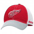 Detroit Red Wings Reebok NHL Garment Washed Slouch Adjustable Hat