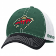 Minnesota Wild Reebok NHL Garment Washed Slouch Adjustable Hat