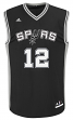 LaMarcus Aldridge San Antonio Spurs Adidas NBA Replica Jersey - Black