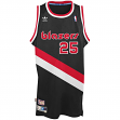 Jerome Kersey Portland Trail Blazers Adidas Throwback Swingman Jersey - Black