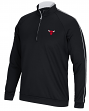 "Chicago Bulls Adidas NBA ""Piped"" Men's Climalite 1/4 Zip Pullover Sweatshirt"