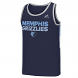 "Memphis Grizzlies Adidas NBA ""Tip Off"" Men's Climalite Tank Top T-Shirt"