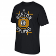 "Boston Bruins Reebok NHL ""Skate the Circles"" Men's T-Shirt"