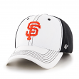 "San Francisco Giants 47 Brand MLB ""Cooler MVP"" Structured Adjustable 2 Tone Hat"