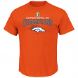 "Denver Broncos Majestic NFL Super Bowl 50 Champions ""Choice"" Men's T-Shirt"