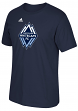 Vancouver Whitecaps FC Adidas MLS Men's Primary Logo T-Shirt - Navy