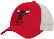 "Chicago Bulls Mitchell & Ness NBA ""Morbido"" Mesh Back Slouch Adjustable Hat"