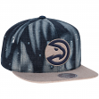 "Atlanta Hawks Mitchell & Ness NBA ""Torn Denim"" Snap Back Hat"