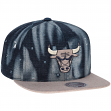 "Chicago Bulls Mitchell & Ness NBA ""Torn Denim"" Snap Back Hat"