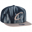 "Cleveland Cavaliers Mitchell & Ness NBA ""Torn Denim"" Snap Back Hat"