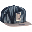 "Los Angeles Clippers Mitchell & Ness NBA ""Torn Denim"" Snap Back Hat"