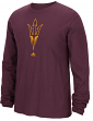 "Arizona State Sun Devils Adidas NCAA ""Logo Tech"" Men's Long Sleeve T-shirt"