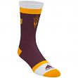 "Arizona State Sun Devils Adidas NCAA ""Campus Striped"" Jacquard Men's Socks"