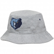 Memphis Grizzlies Mitchell & Ness NBA Grey Fleece Bucket Hat