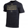 "Vanderbilt Commodores Under Armour NCAA ""Fullback"" Men's Tri-Blend S/S Shirt"