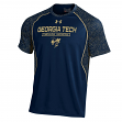 "Georgia Tech Yellowjackets Under Armour NCAA ""Apex"" Men's Performance S/S Shirt"