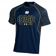 "Notre Dame Fighting Irish Under Armour NCAA ""Apex"" Men's Performance S/S Shirt"