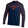 "Auburn Tigers Under Armour NCAA ""Reach the Apex"" Performance Long Sleeve Shirt"