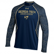"Georgia Tech Yellowjackets Under Armour ""Reach the Apex"" Performance L/S Shirt"