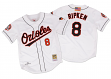Cal Ripken Jr Baltimore Orioles Mitchell & Ness Authentic 2001 Button Up Jersey