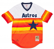 Nolan Ryan Houston Astros Mitchell & Ness Authentic MLB 1980 Pullover Jersey