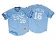 Bo Jackson Kansas City Royals Mitchell & Ness Authentic 1987 Button Up Jersey