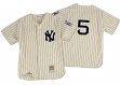 Joe DiMaggio New York Yankees Mitchell & Ness Authentic 1939 Button Up Jersey