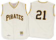 Roberto Clemente Pittsburgh Pirates Mitchell & Ness Authentic MLB 1960 Jersey