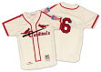 Stan Musial St. Louis Cardinals Mitchell & Ness Authentic 1944 Button Up Jersey