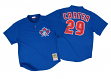 Joe Carter Toronto Blue Jays Mitchell & Ness Authentic 1997 BP Jersey