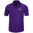 "Baltimore Ravens Majestic NFL ""Field Classic 2"" Men's Short Sleeve Polo Shirt"