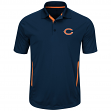 "Chicago Bears Majestic NFL ""Field Classic 2"" Men's Short Sleeve Polo Shirt"