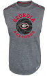 "Georgia Bulldogs Majestic NCAA ""Net Worth"" Sleeveless Synthetic Shirt"