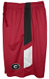 "Georgia Bulldogs Majestic NCAA ""Elite"" Men's Performance Shorts - Red"