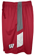 "Wisconsin Badgers Majestic NCAA ""Elite"" Men's Performance Shorts"