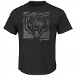 "Chicago Bears Majestic NFL ""Right Direction"" Men's Short Sleeve Premium T-Shirt"