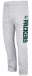 "Green Bay Packers Majestic NFL ""Getting Started"" Men's Fleece Sweatpants - Gray"