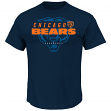 "Chicago Bears Majestic NFL ""Of Great Value"" Men's Short Sleeve T-Shirt"