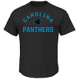 "Carolina Panthers Majestic NFL ""For All Time"" Men's Short Sleeve T-Shirt"