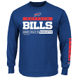 Buffalo Bills Majestic NFL Primary Receiver 2 Long Sleeve Men's T-Shirt