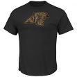 "Carolina Panthers Majestic NFL ""Camo Tek Patch"" Men's Short Sleeve T-Shirt"