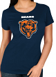 "Chicago Bears Women's Majestic NFL ""Franchise Fit 2"" Short Sleeve T-shirt"